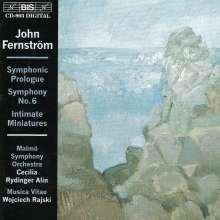 John Fernström (1897-1961): Symphonie Nr.6, CD