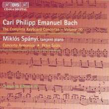 Carl Philipp Emanuel Bach (1714-1788): Sämtliche Cembalokonzerte Vol.10, CD