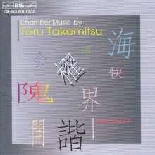 Toru Takemitsu (1930-1996): Kammermusik, CD