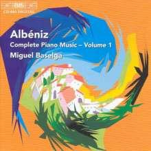 Isaac Albeniz (1860-1909): Klavierwerke Vol.1, CD