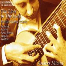 Anders Miolin - The Lion in the Lute, CD