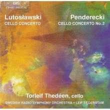Krzysztof Penderecki (geb. 1933): Cellokonzert Nr.2, CD