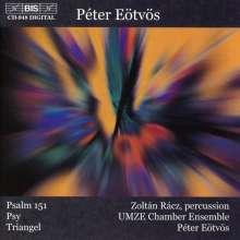 """Peter Eötvös (geb. 1944): Aktionen für Percussion & 27 Musiker """"Triangel"""", CD"""