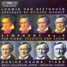 Ludwig van Beethoven (1770-1827): Symphonie Nr.9 (von Richard Wagner arrangiert für Klavier, Soli & Chor), CD
