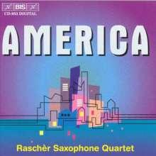 Rascher Saxophone Quartet - America, CD