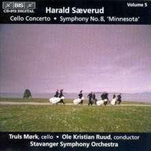 """Harald Saeverud (1897-1992): Symphonie Nr.8 """"Minnesota"""", CD"""