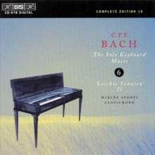 Carl Philipp Emanuel Bach (1714-1788): Cembalosonaten Wq.62 Nr.18 & 20, CD