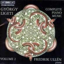 György Ligeti (1923-2006): Sämtliche Klavierwerke Vol.2, CD
