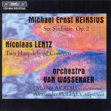 Michael Ernst Heinsius (1710-1764): Symphonien op.2 Nr.1-6, CD