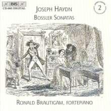 Joseph Haydn (1732-1809): Klaviersonaten H16 Nr.34,40-42,47,48, CD