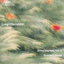 Luigi Cherubini (1760-1842): Streichquartette Nr.5 & 6, CD