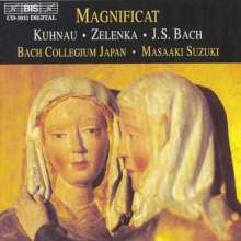 Jan Dismas Zelenka (1679-1745): Magnificats ZWV 107 & 108 (D-Dur & D-Dur), CD