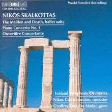 Nikos Skalkottas (1904-1949): Klavierkonzert Nr.1, CD