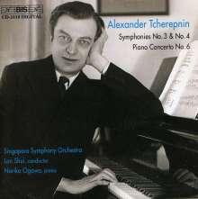 Alexander Tscherepnin (1899-1977): Symphonien Nr.3 & 4, CD