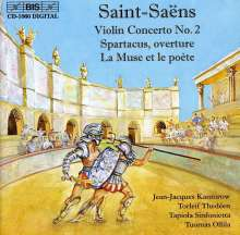 Camille Saint-Saens (1835-1921): Violinkonzert Nr.2, CD