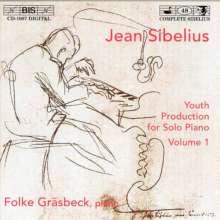 Jean Sibelius (1865-1957): Klavierwerke Vol.1, CD