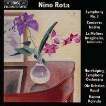 Nino Rota (1911-1979): Symphonie Nr.3, CD