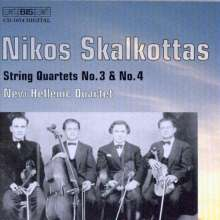 Nikos Skalkottas (1904-1949): Streichquartette Nr.3 & 4, CD