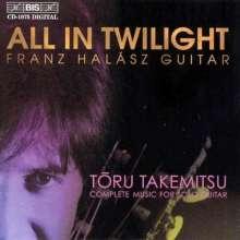 Toru Takemitsu (1930-1996): Gitarrenwerke, CD