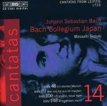 Johann Sebastian Bach (1685-1750): Kantaten Vol.14 (BIS-Edition), CD