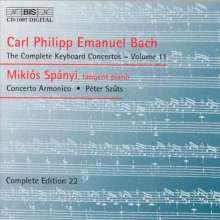 Carl Philipp Emanuel Bach (1714-1788): Sämtliche Cembalokonzerte Vol.11, CD