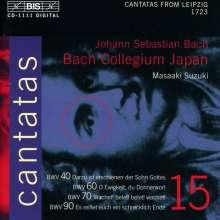 Johann Sebastian Bach (1685-1750): Kantaten Vol.15 (BIS-Edition), CD