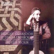 Enrique Granados (1867-1916): Danzas Espanolas op.37 für 10-saitige Gitarre, CD