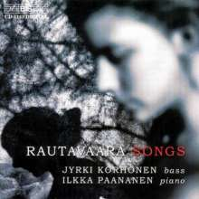 Einojuhani Rautavaara (geb. 1928): Lieder, CD