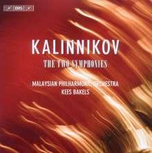 Wassilij Kalinnikoff (1866-1901): Symphonien Nr.1 & 2, CD