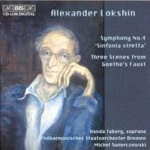 Alexander Lokshin (1920-1987): Symphonie Nr.4, CD