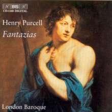 Henry Purcell (1659-1695): 13 Fantasien für 3 & 4 Stimmen, CD