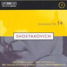 Dmitri Schostakowitsch (1906-1975): Symphonie Nr.14, CD