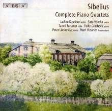 Jean Sibelius (1865-1957): Klavierquartette in C & D, CD