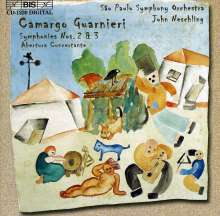 Mozart Camargo Guarnieri (1907-1993): Symphonien Nr.2 & 3, CD