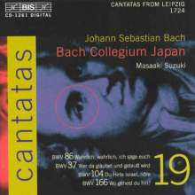 Johann Sebastian Bach (1685-1750): Kantaten Vol.19 (BIS-Edition), CD