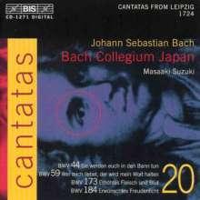 Johann Sebastian Bach (1685-1750): Kantaten Vol.20 (BIS-Edition), CD
