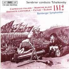 Peter Iljitsch Tschaikowsky (1840-1893): 1812 Ouvertüre op.49, CD
