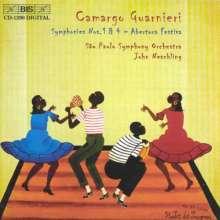 Mozart Camargo Guarnieri (1907-1993): Symphonien Nr.1 & 4, CD