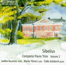 Jean Sibelius (1865-1957): Klaviertrios in C & D, CD