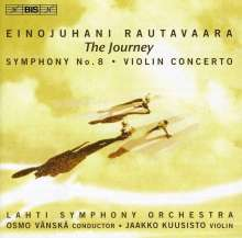 "Einojuhani Rautavaara (1928-2016): Symphonie Nr.8 ""The Journey"", CD"