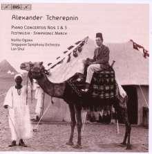 Alexander Tscherepnin (1899-1977): Klavierkonzerte Nr.1 & 3, CD