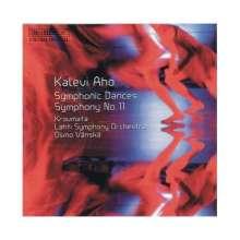 Kalevi Aho (geb. 1949): Symphonie Nr.11 für 6 Schlagzeuger & Orchester, CD