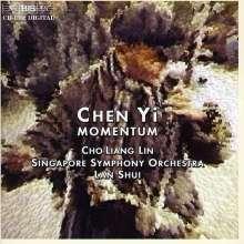 Chen Yi (geb. 1953): Chinese Folk Dance Suite für Violine & Orchester, CD