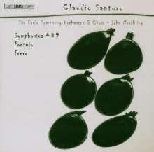 Claudio Santoro (1919-1989): Symphonien Nr.4 & 9, CD