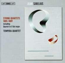 Jean Sibelius (1865-1957): Streichquartett Es-Dur (1885), CD