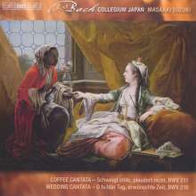 Johann Sebastian Bach (1685-1750): Weltliche Kantaten Vol.1, CD