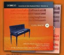 Carl Philipp Emanuel Bach (1714-1788): Sämtliche Cembalokonzerte Vol.15, 2 CDs