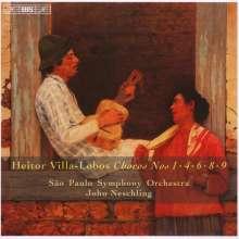 Heitor Villa-Lobos (1887-1959): Choros Vol.2, CD