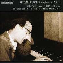 Alexander Lokshin (1920-1987): Symphonien Nr.5,9,11, CD
