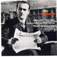 Nikos Skalkottas (1904-1949): Klavierwerke, CD